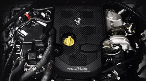 Abarth 124 spider engine
