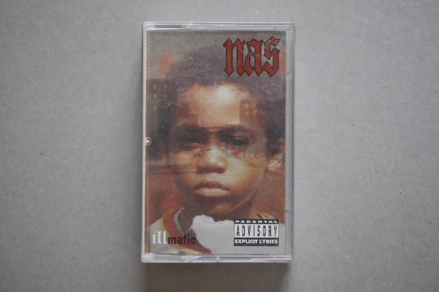 """nas illmatic cassette """"hip-hop nostalgia"""""""