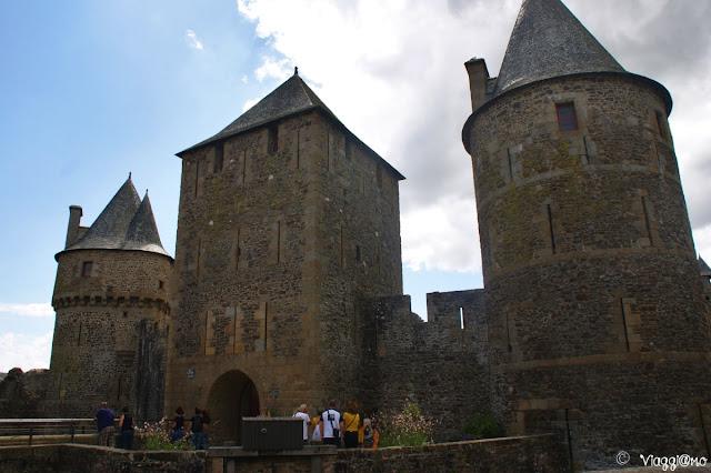 Porta di ingresso al castello di Fougeres