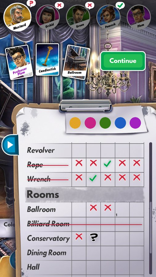 Cluedo App