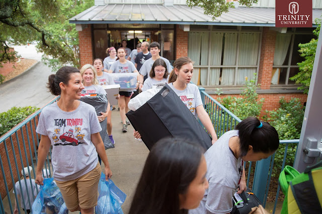 Team Trinity on move in day