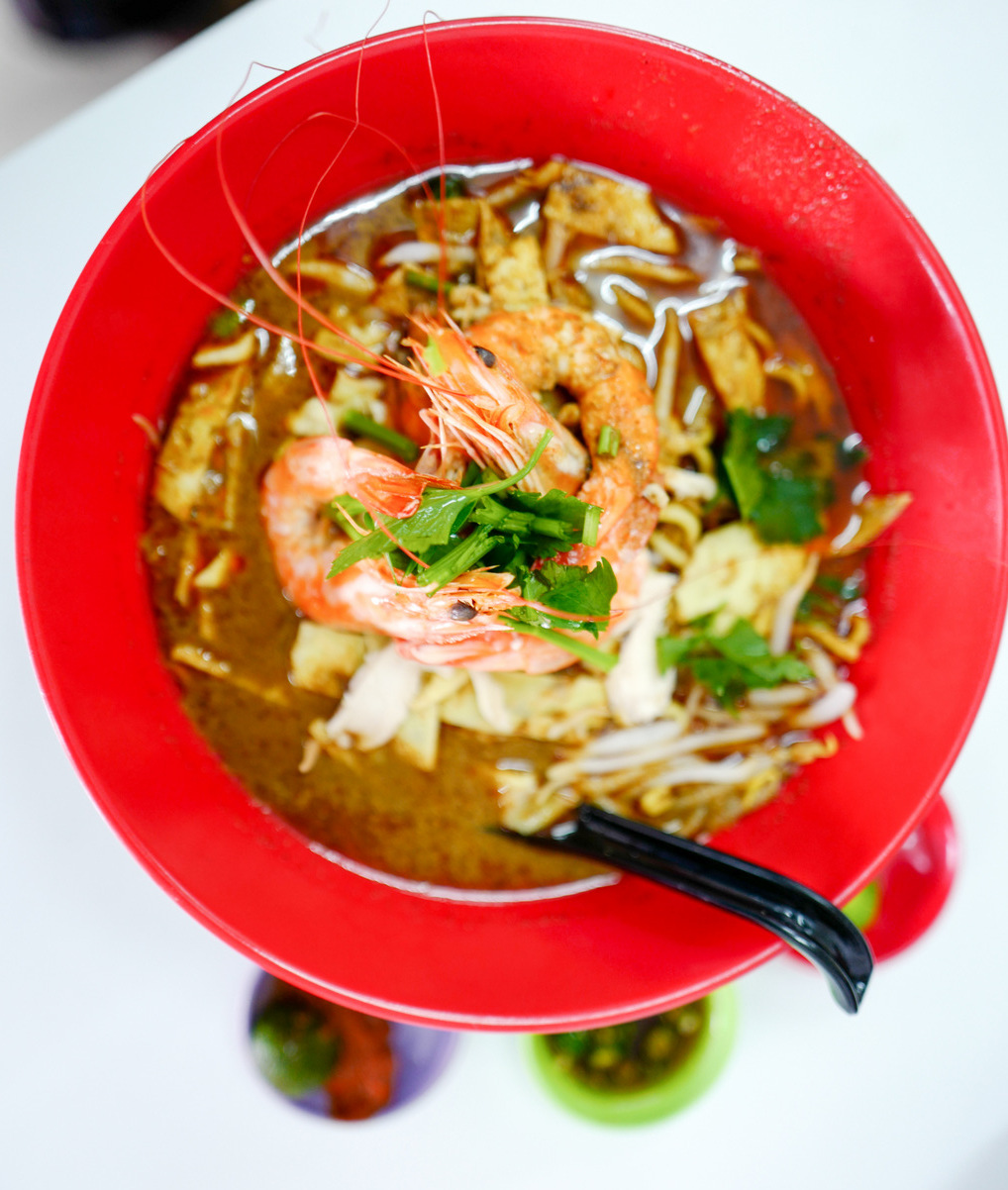 After Nearly Two Decades In Bangsar Aunty Christina Is Taking Her Well Respected Sarawak Laksa To Pj Shifting From Kopitiam Stall Lucky Garden