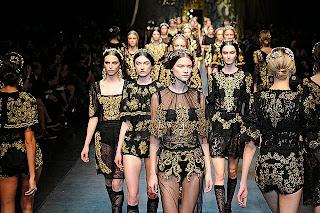 desfile moda Dolce & Gabbana