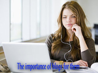 The importance of blogs for them