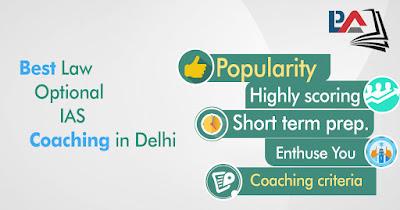 Best Law Optional IAS Coaching in Delhi