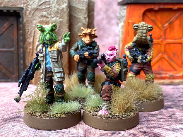 Star Wars Legion Rebel Alien Troopers Upgrade Expansion