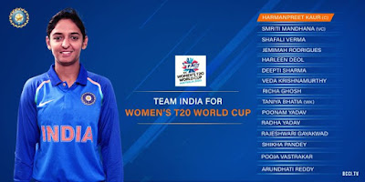 Harman Preet Kaur-led India squad was announced for ICC Women's T-20 World Cup 2020