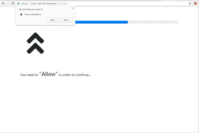 All-vids-free.com pop-ups