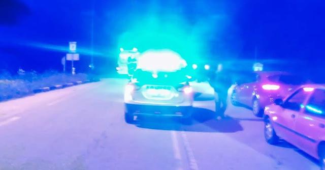 Τροχαίο ατύχημα σημειώθηκε πριν τις 7 το απόγευμα στην Ε.Ο. Πρέβεζας Ηγουμενίτσας, στο Κανάλι.