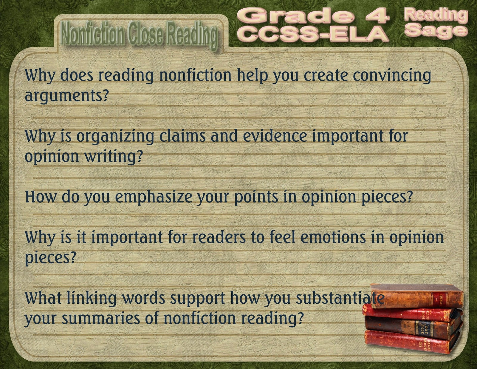 Reading Sage Rti