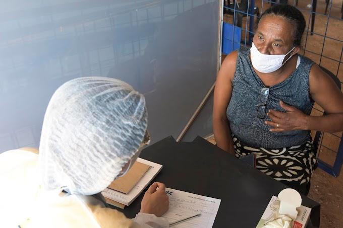 DF:  Moradores do Itapoã receberão neste final de semana os atendimentos da Vila Sesc Mais Saúde, com exames preventivos e testagem de Covid