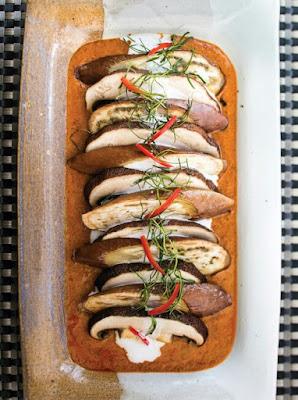 Panang Curry with Portobello Mushrooms & Eggplant Recipe