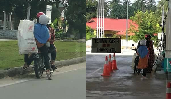 'Tersentap rasa hati, rupanya mereka hanya isi minyak RM1.00'