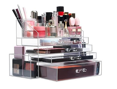 The Makeup Storage Box Takes Up Little Counter E Displays Various Beauty Items And Simplifies Your