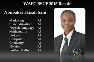 Photo: An Excellent 2016/2017 May/June WASSCE Result From A Beauty Queen