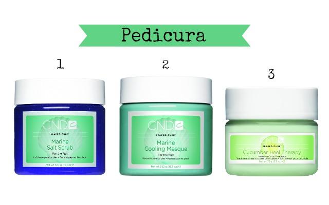 productos CND para los pies