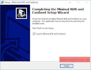 شرح تثبيت اداة Minimal ADB and Fastboot