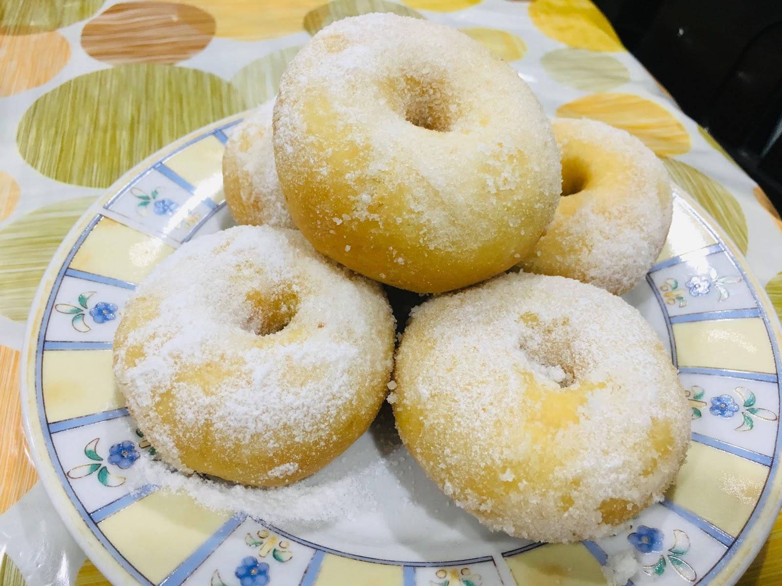 Resepi Donut Kentang Yang Mudah, Sedap, Lembut Dan Menjadi ...