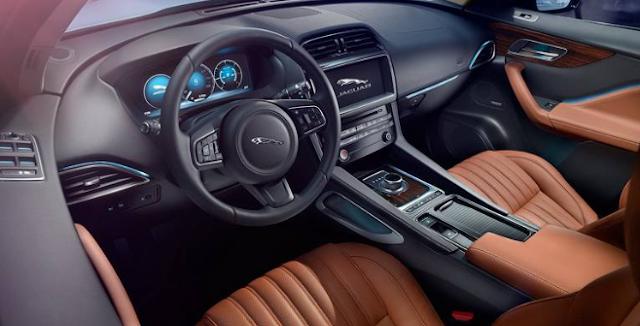 2017 Jaguar F-Type SVR Interior