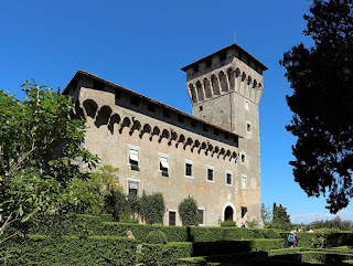 The Villa del Trebbio, which Cosimo de' Medici turned into a fortified castle