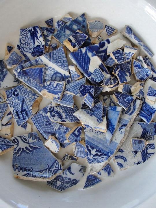 eugene h u0150n   ceramic artist  manufraction  ceramic shard