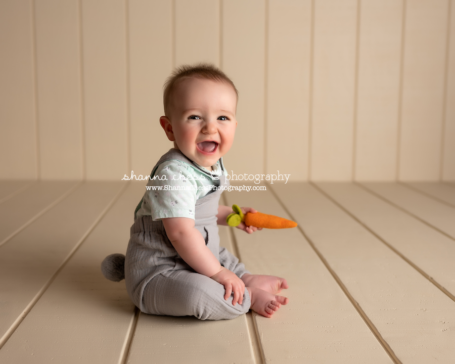 6 month baby photos Eugene OR