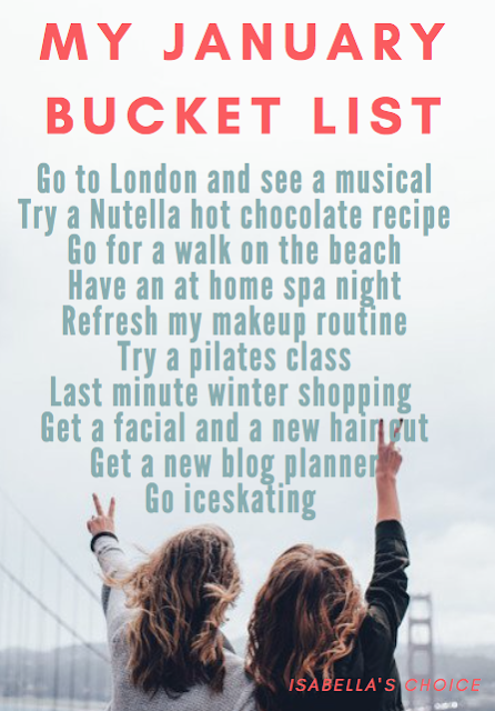 My January Bucket List