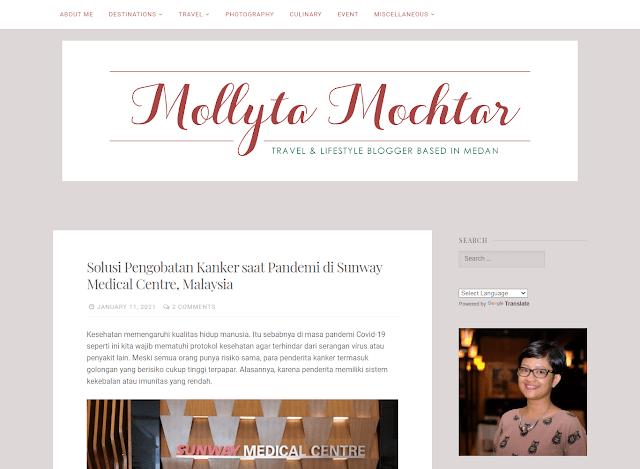 Mollyta Mochtar's Blog dalam Blog Terbaik versi sactiest