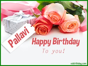 Happy Birthday Pallavi