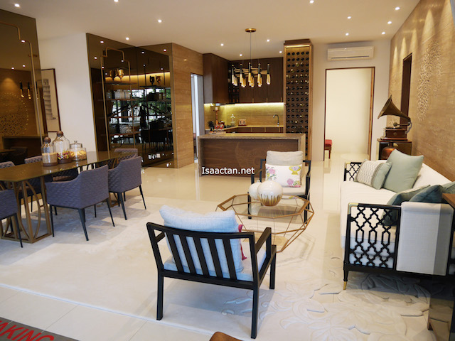 Beautifully furnished showrooms at PSP Ice Gallery