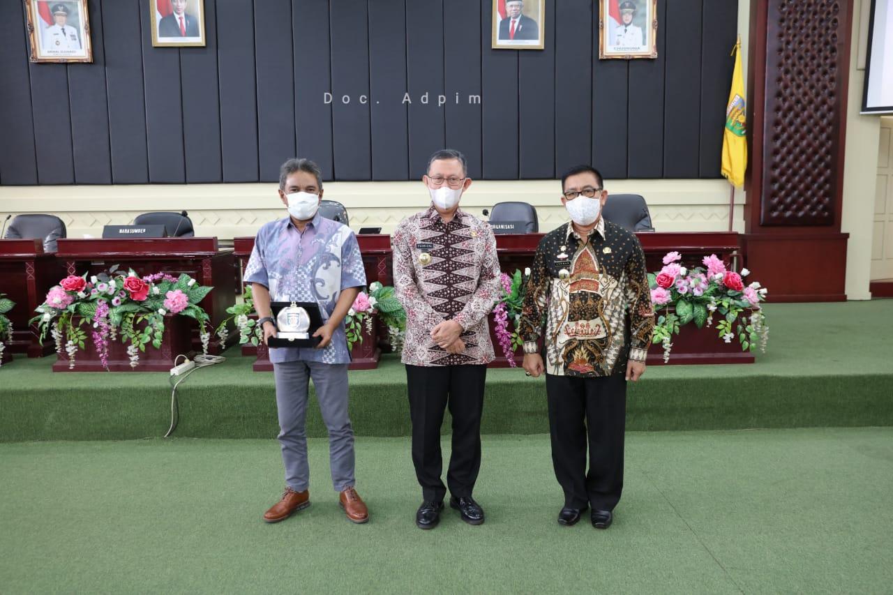 Sosialisasi Peran Agen Perubahan di Lingkungan Pemprov Lampung, Gubernur Arinal Minta Agen Perubahan Menjadi Teladan ASN di Lingkungan Kerjanya
