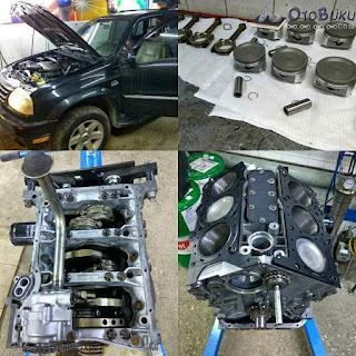 Mesin Suzuki Grand Escudo XL7 Terbaru