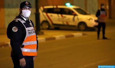 Maroc- prolongement du couvre-feu pour deux semaines supplémentaires à partir de demain