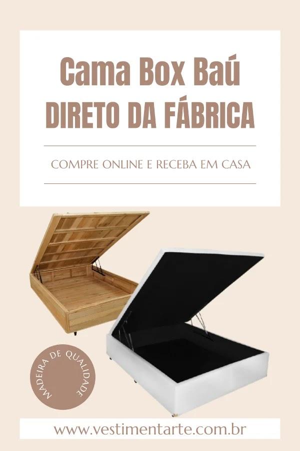 Compre móveis direto da fábrica RJ - camas box e baú