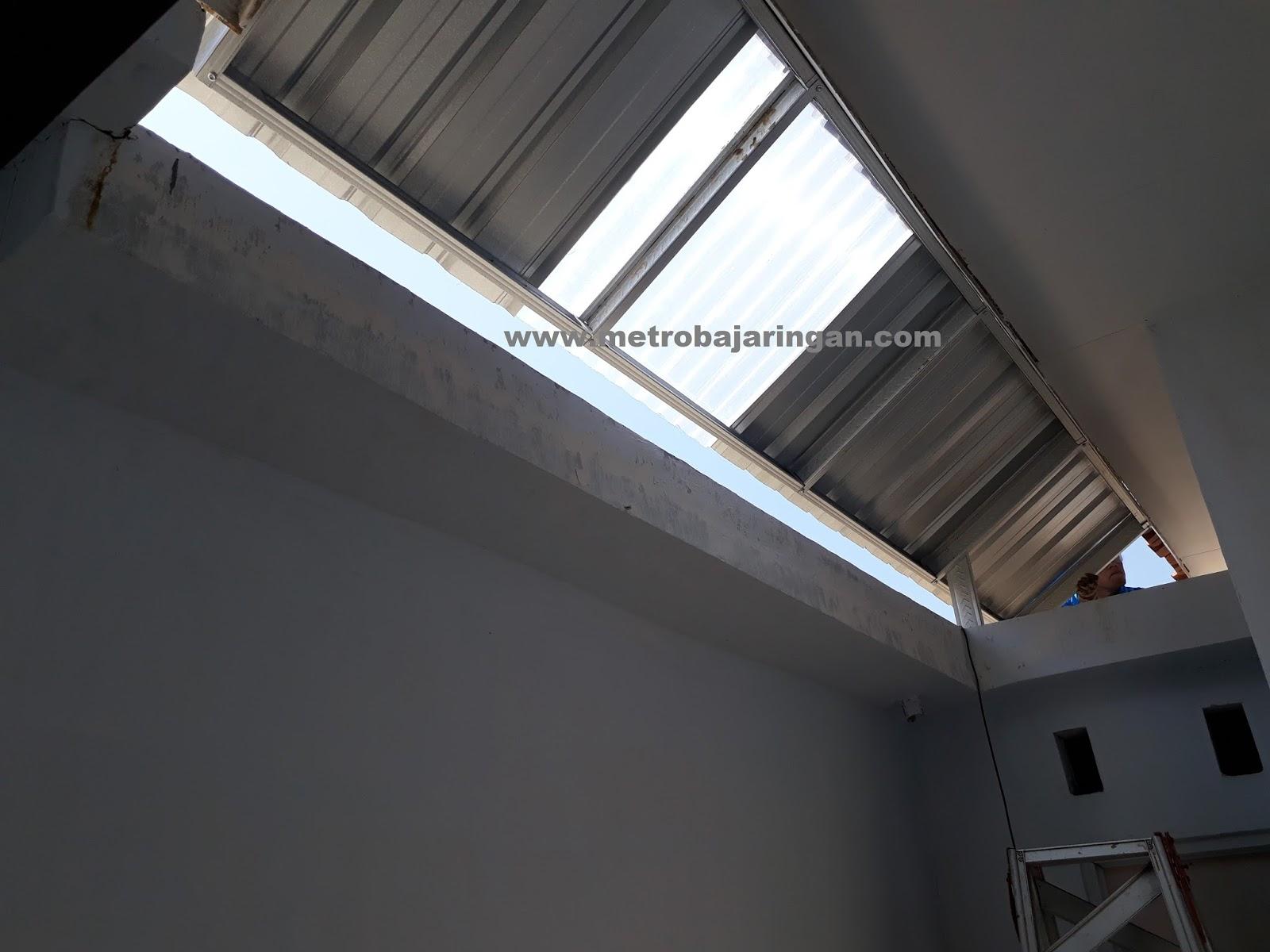 Rangka Atap Baja Ringan Untuk Teras Kanopi Yang Cocok Belakang Rumah ~ Metro Truss ...