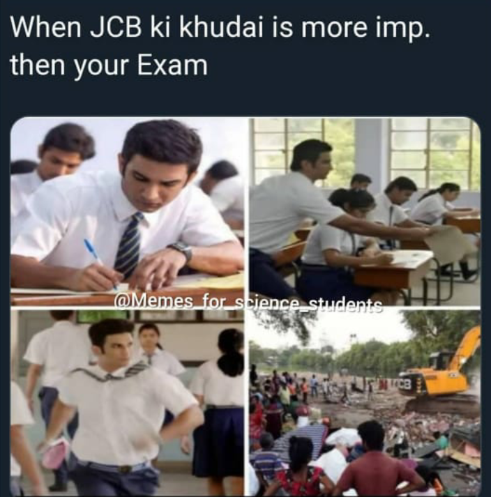 Latest and New JCB Ki Khudai Meme Download - BaBa