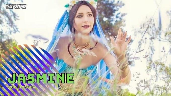 eresseasama con su cosplay de Jasmine