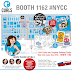 New York Comic Con 2018 - Booth 1162 on the Show Floor