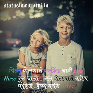 100+ { Bhari } Birthday Status For Sister In Marathi 2020