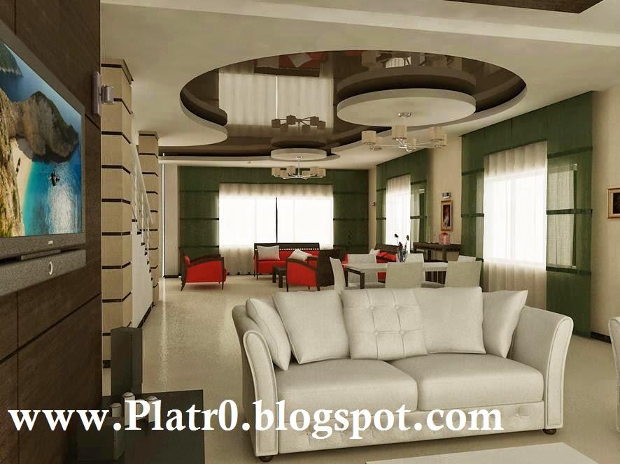 Faux Plafond De Salon Francais - Décoration Platre Maroc ...