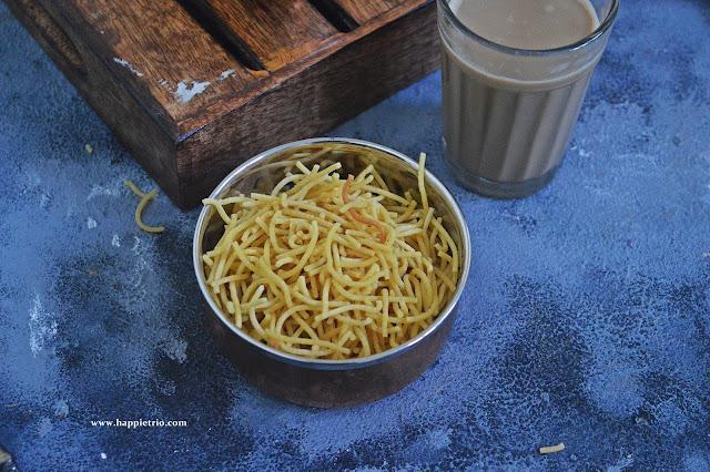 Omapodi Recipe | Sev Recipe | How to make Omapodi in Home