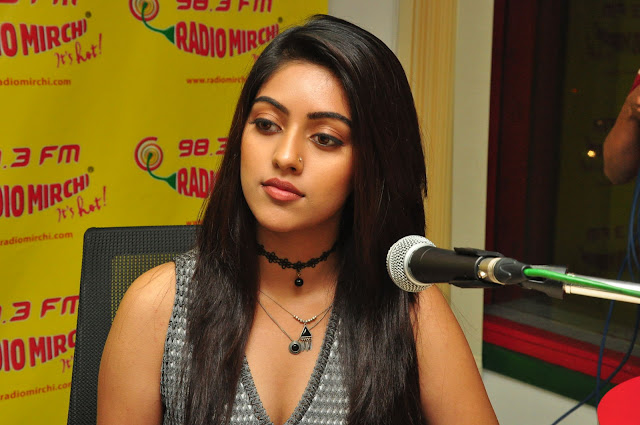 Anu Emmanuel at Radio Mirchi Photos