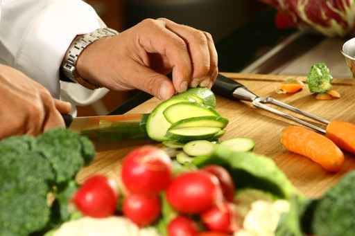 vegetables chopping board,