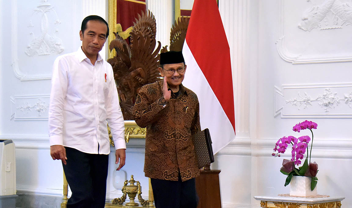 Habibie Mengatakan Rakyat Sudah Menentukan Supaya Karya Presiden Jokowi Berkelanjutan