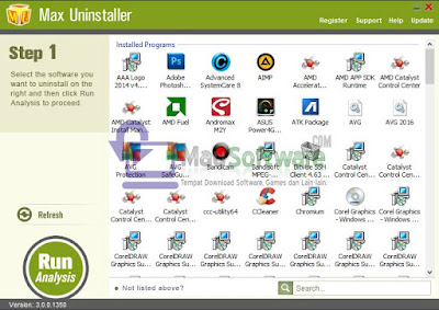 Max Uninstaller Terbaru Gratis Full Version, Crack, Keygen, Serial Number, License Key, Latest Version