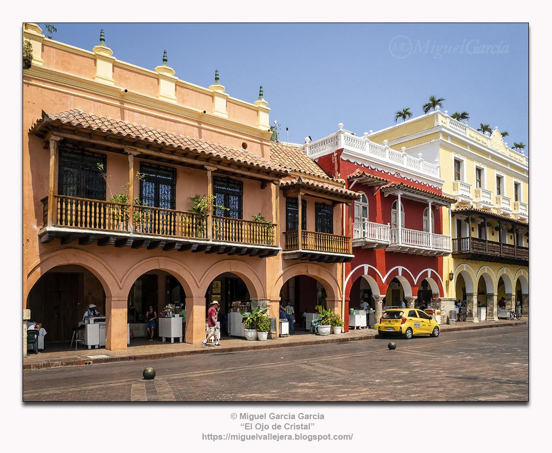 Cartagena de Indias, Plaza de los Coches