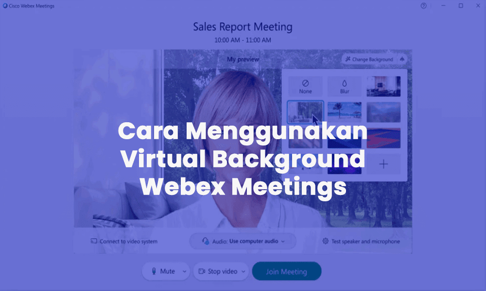 virtual background webex meeting