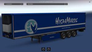 HispaMaroc Blue Color Trailer