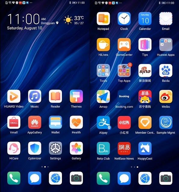 Huawei emui 10 interface 01