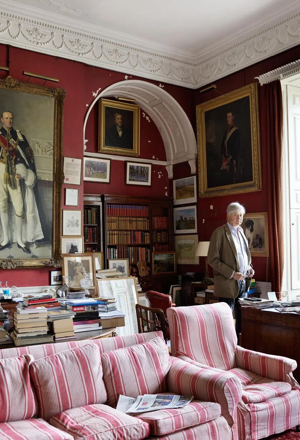 Facciata Casa Di Campagna badminton house, la meravigliosa casa della duchessa georgia
